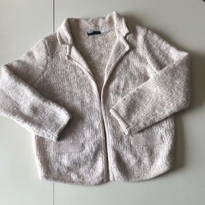 BDG Wool-Blend Open Front Cardigan, Size M
